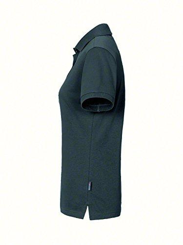 HAKRO Women-Poloshirt Cotton-Tec 214 Anthrazit