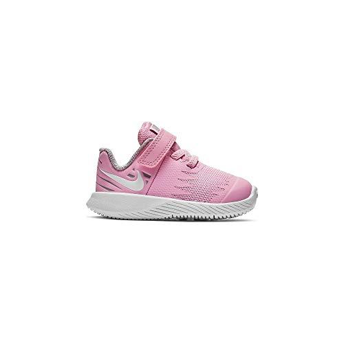 Nike 907256 602 Mädchen Klettverschluss/Slipper Halbschuh, Größe 24