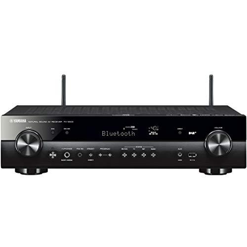 Yamaha RX-S602 MC AV-Receiver (Slimline Netzwerk-Receiver mit kraftvollem 5.1 Surround-Sound - für packendes Home Entertainment - Music Cast und Alexa kompatibel) schwarz