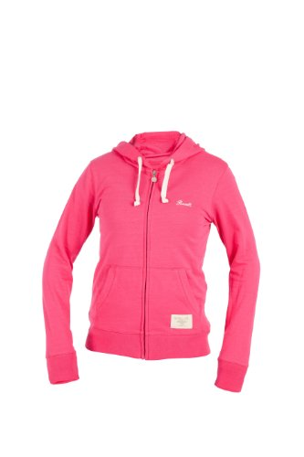 Russell Athletic Sweats (Russell Athletic Damen Sweatjacke Zip Through Hoodie, Fuxia, XL, A3-145-2-185)