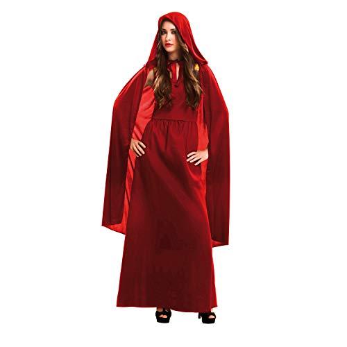 Melisandre Kostüm - My Other Me Damen Kostüm böse Zauberin für, M-L, rot (viving Costumes 202065)