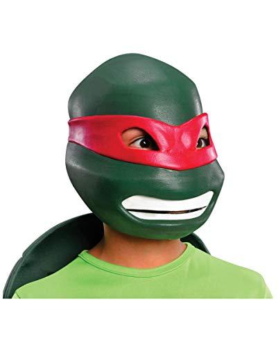 Horror-Shop TMNT Raphael Kindermaske für Kinderfasching & Geburtstag