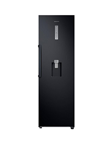 Samsung RR39M7340BC/EU Frost-Free Tall Larder Fridge with Non-Plumbed Water Dispenser in Black Best Price and Cheapest