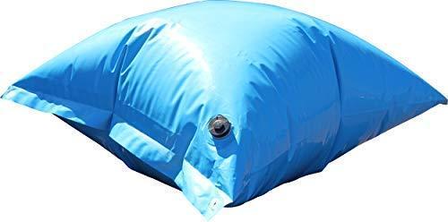 well2wellness® PE Deluxe Luftkissen, Winterkissen und Poolkissen für Pool Abdeckplane - jetzt mit neuem TOP-Ventil