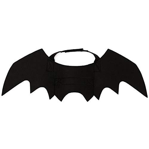 Amakunft Fledermausflügel für Halloween, Party, Katzenhalsband, Leinen, Cosplay, Fledermaus-Kostüm, süßes Katzen-Zubehör