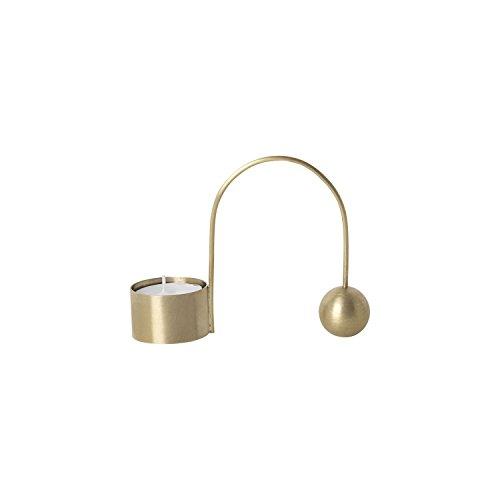 Ferm Living - Balance Kerzenhalter & Teelichthalter - Messing - Teelichthalter - Design - Kerzenhalter