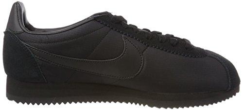 Nike Classic Cortez Nylon, Chaussures de Running Homme Noir (Black/black/white 012)