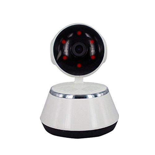 Übersetzung / Neigung & zwei-Wege-Sprach 720P HD 1 milione di pixel Haussicherheitssystem Kamera IP HD IP-Überwachungskamera , White Versteckte Kamera-IP wifi