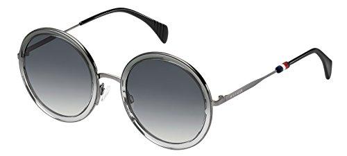 Tommy Hilfiger Damen TH 1474/S 9O EDM 53 Sonnenbrille, Schwarz (Black Blck/Grey)