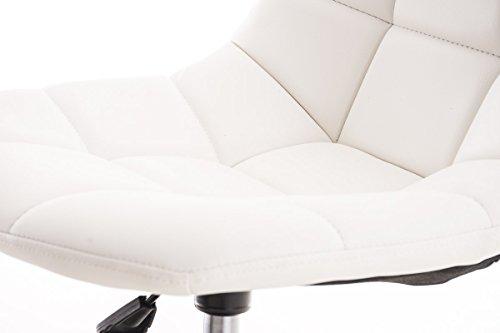 Clp sedia da ufficio emil in similpelle trapuntata poltroncina