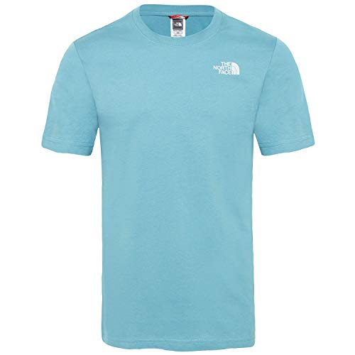 THE NORTH FACE Herren Red Box T-Shirt, Storm Blue, L