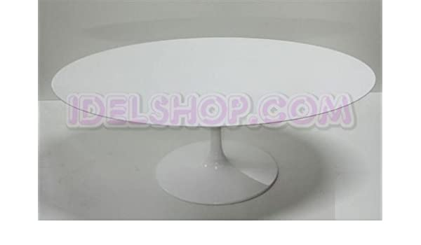 Tavolo Saarinen Misure : Idelshop tavolo saarinen ovale fisso in laminato liquido amazon