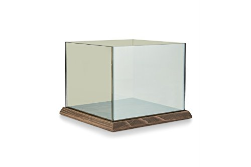 Teelicht Spiegel (LIFA LIVING Teelichthalter mit 3D- Effekt und magischer Lichtermeer Optik endlose Spieglung in 3 verschiedenen größen (9 Kerzen))