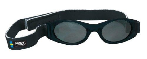 Swimpy Baby Sonnenbrille UV Schutz, schwarz, 0-3 Jahre, 34-9006