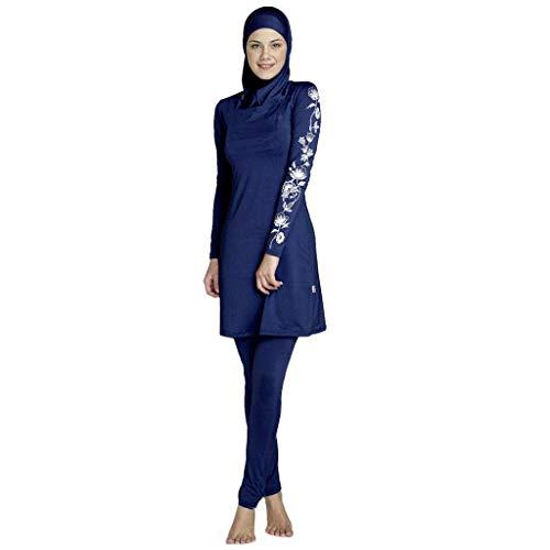 6ea95c15929e07 SFHTFTRGJRYJ Traje De Baño Musulmán Islámico Islámico para Burkini Modest  Swimwear Mujeres Vida de la Moda