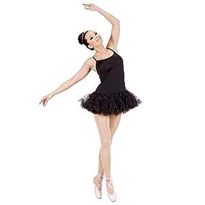 WIDMANN 76421?Prima bailarina disfraz, versión Negro, De Talla S