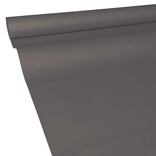 50m x 1,15m JUNOPAX® Papiertischdecke titan-grau | nass- und wischfest