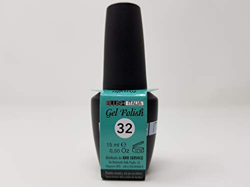 Gel Polish 15 ml semipermanenti Blush Italie 96 couleurs ultra coprenza maximale durée (32 – Tiffany)