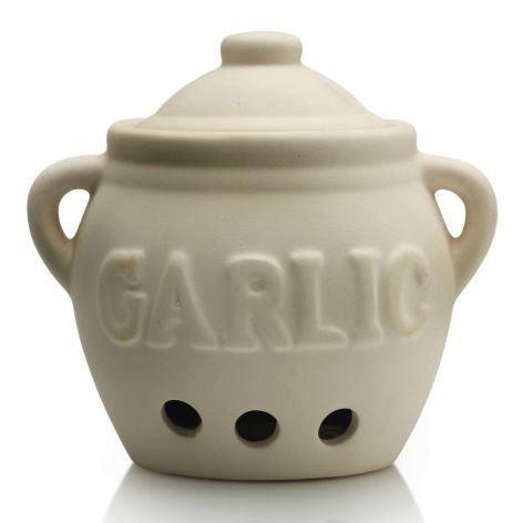 Cks Pot En Céramique De Stockage De L'Ail