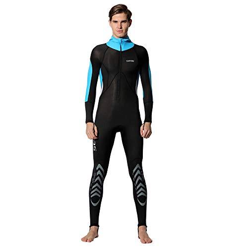 JL-Q Herren 0,5 Mm Langer Ärmel Einteiliges Taucheranzug Männlich Schwimmen Schnell Trocknen Sonnencreme Schnorchel Anzug Surf-Kleidung Taucheranzug,L