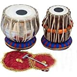 Baba Surjan Singh & Sons Professional Wooden Indian Musical Instrument Bayan Tabla, Dayan Tabla For Beginners & Students/Boys/Girls