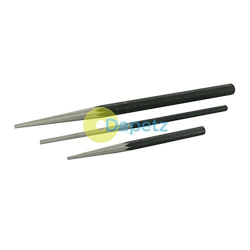 Long Taper Punch (dapetz® Profilsenkereinsätze lang Taper Punch Set DIY Werkzeuge gehärtetem Carbon Stahl-Beste Qualität)
