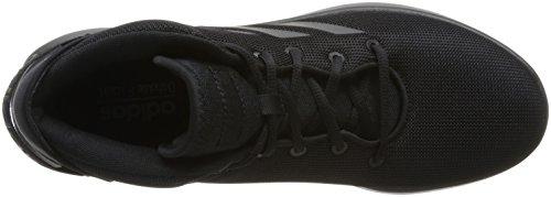 adidas Herren Cloudfoam Refresh Mid Gymnastikschuhe Schwarz (Core Black/core Black/core Black Core Black/core Black/core Black)