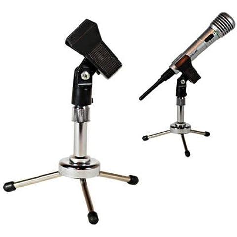 Generic dyhp-a10-code-3137-class-1-- soporte UK K abrazadera Clip Clip portátil Metal Mic Micrófono trípode escritorio Ripod mesa micrófono micrófono Le