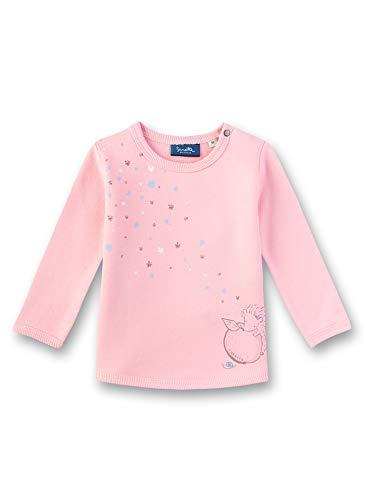 Sanetta Baby-Mädchen Sweatshirt, Rosa (Lolly 3053), 68 (Herstellergröße: 068)