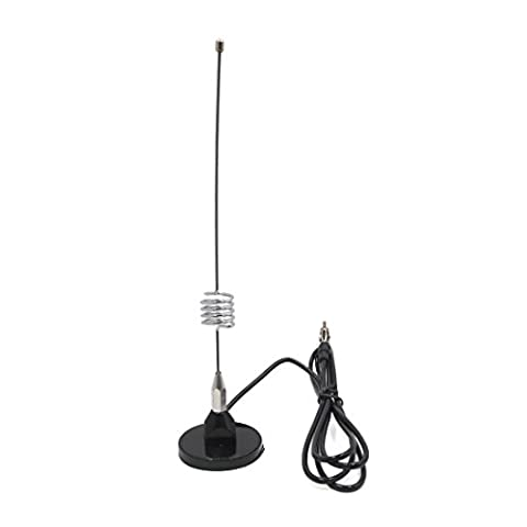 sourcingmap® Universal Magnetic Base Car Rear Trunk Mounting AM FM Radio Signal Antenna Aerial