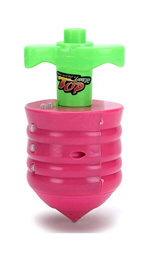 Flipzon Laser Spinning Top Toy With Music And Lightning - Multicolor (Color/Design May Vary)