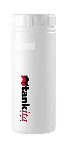 Wasserflasche lagerung / träger es bringt alles 750ml für fahrradschläuche, tools, alimente, mini pumpe Weiß