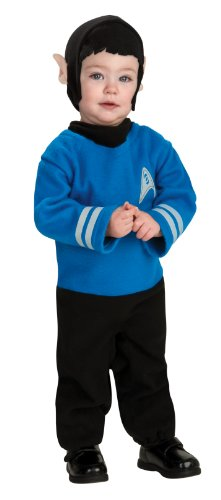Star Trek into Darkness Spock Costume, Toddler 1-2 by Rubie's