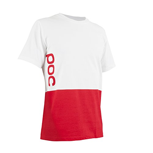 POC T-Shirt 2 Color Print Tee Glucose Red