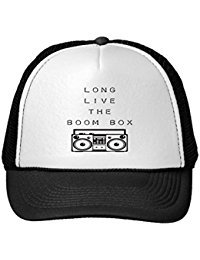 Funny Long Live The Boom Box-Hat Trucker Hat