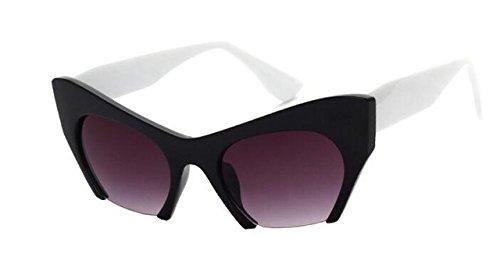 Generic Sexy Cat Eye Sunglasses Women Retro Vintage Shades- Color2