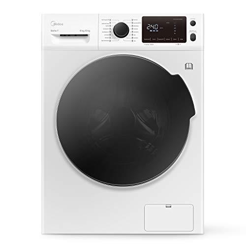 Midea Waschtrockner WT 7.860i/ Energieeffizienz A/ Reload - Nachlegefunktion/ Inverter Motor/ 8 kg Waschen/ 6 kg Trocknen/ 1600 U/min