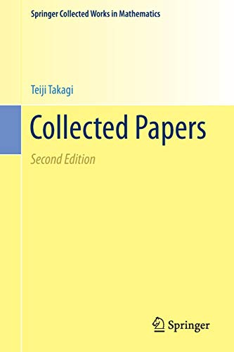 Collected Papers (Springer Collected Works in Mathematics)