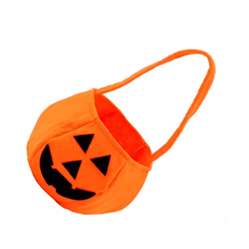 Kinder Schöne Deko Halloween Süßigkeit Sack Halloween-Kürbis-Taschen Non-Woven-Gewebe-Kindertrick oder Taschen Treat (Maske, Sack Halloween)