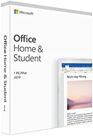 Microsoft 79G-05171 Office Home and Student 2019, Perpetual License, English, Middle East Version, 1 License