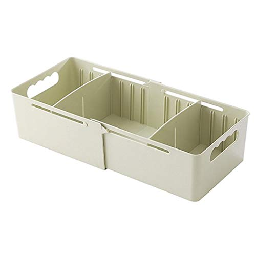 Sulifor Aufbewahrungsbox Kunststoff Socken Unterwäsche Finishing Box Desktop-Schublade Lagerung, Desktop-Aufbewahrungsbox Kosmetik Hautpflegeprodukte Kunststoff Lagerregal