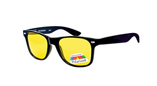 rainbow safety Auto Brille Nachtsichtbrille Nachtfahrbrille Kontrastbrille Polarisierte Gläser 2284N