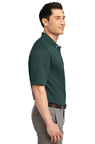 Port Authority Herren Poloshirt Dunkelgrün