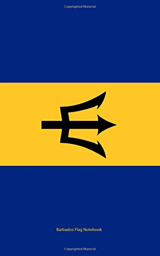 Barbados Flag Notebook: College Ruled Writer's Notebook for School, the Office, or Home! (5 x 8 inches, 78 pages)