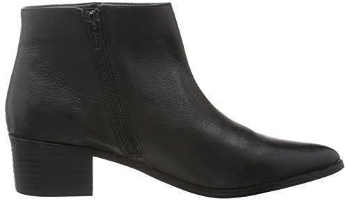Buffalo 2364 Damen Leather Schwarz Kurzschaft Stiefel London 415 01 Indios Black wffqxtHr