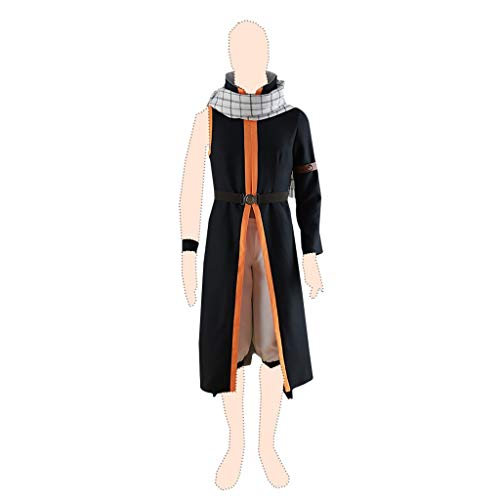 Fairy Tail Cosplay Kostuem Natsu Dragneel Ver.3 Suits Large (Natsu Cosplay Kostüm)