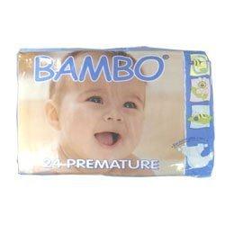 strahlend Baby Bambo vorzeitigen Windeln 24s