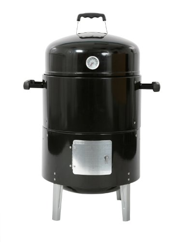 Bar-Be-Quick Smoker & Grill BBQ - Grill, Smoke, Roast & Steam All in One (Smoker & Cover)