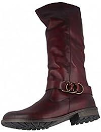 Remonte R3382, Botas de Montar para Mujer, Rojo