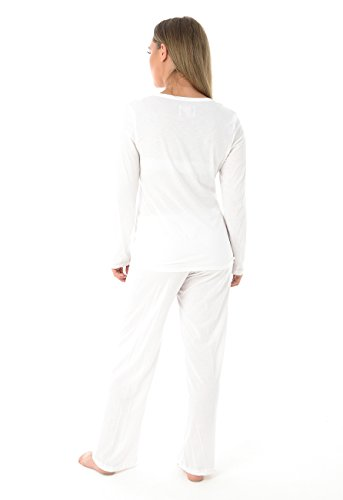 Ex Highstreet Damen Schlafanzug cremefarben cremefarben One size Gebrochenes Weiß